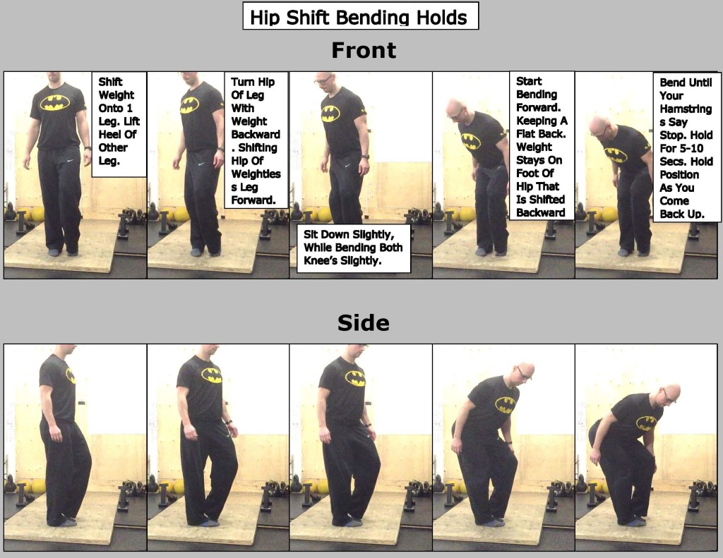 Hip Shift Bending Holds