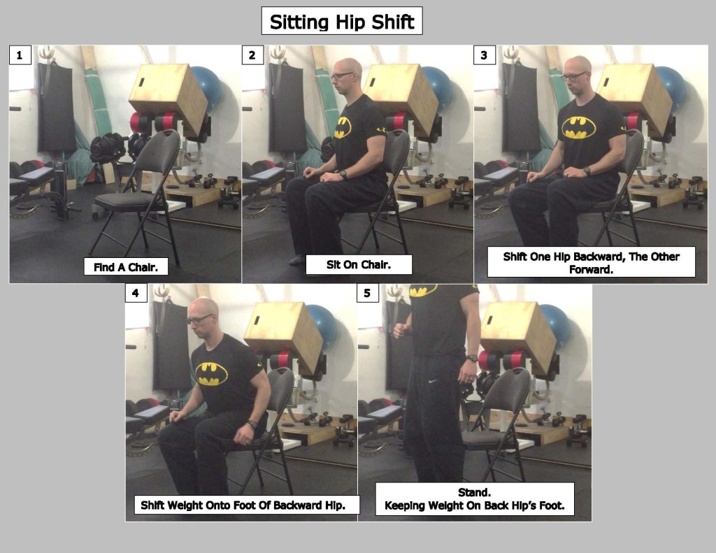 Sitting Hip SHifts