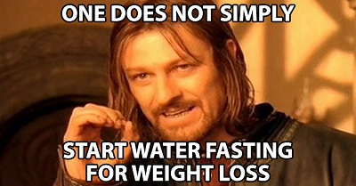 water-fasting-for-weight-loss
